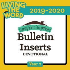Bulletin Inserts (2019-2020)