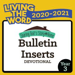 Bulletin Inserts (2020-2021)