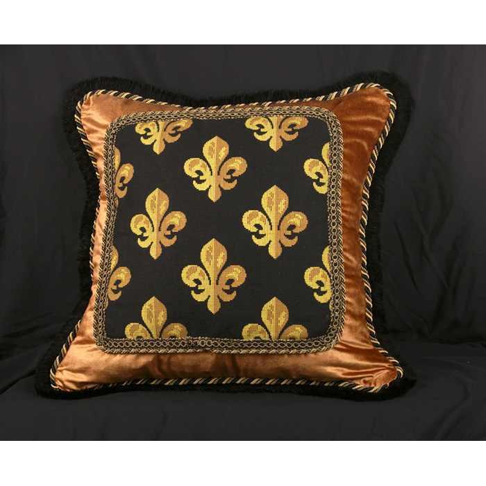 Scalamandre Epingle with Silk and Velvet  Luxury