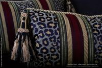 Leopardo Stripe Decorative Designer PIllows | Brunschwig ...