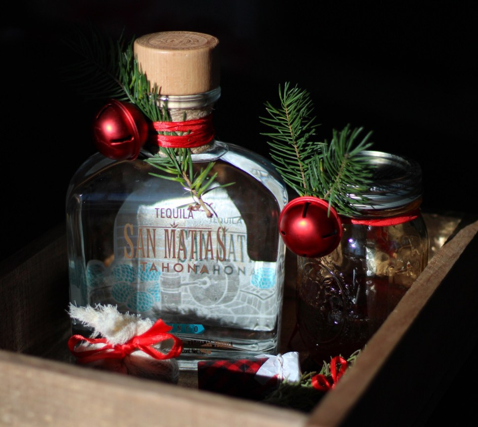 Sugar Plum Tequila Old Fashioned