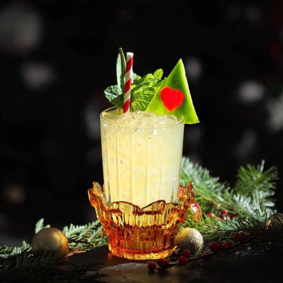 Patron Silver and SpiritedLA Holiday Cocktails