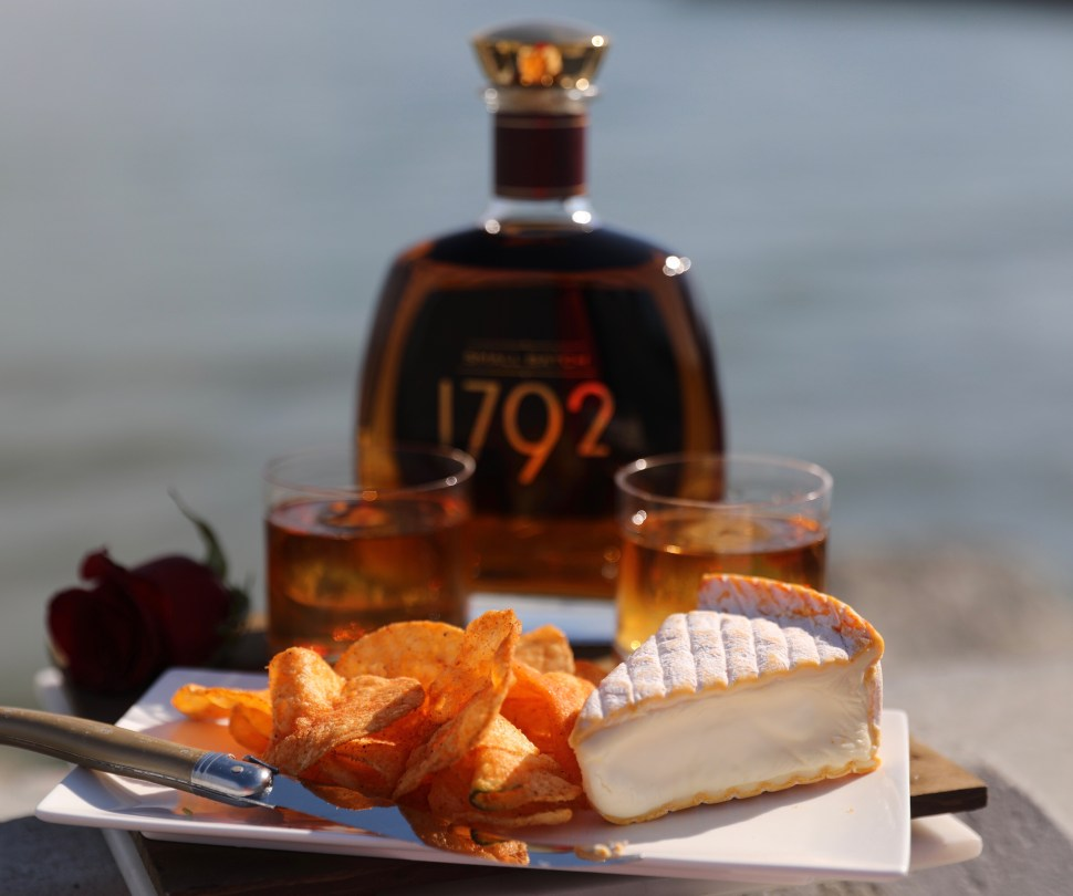 1792 Small Batch Bourbon. Bourbon and Food pairings perfect for Valentine's Day.