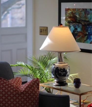The sitting room at Margin Street Inn - SpiritedLA