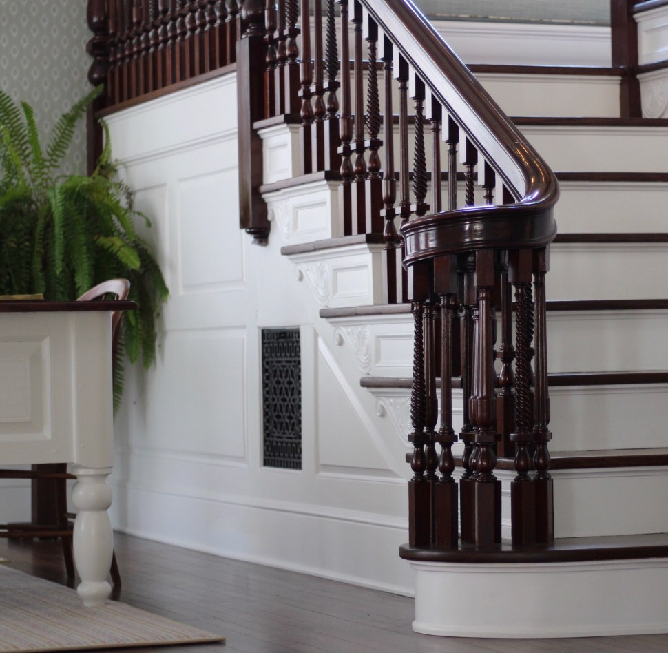 Rhode Island Bed and Breakfast - Margin Street Inn staircase Westerly RI