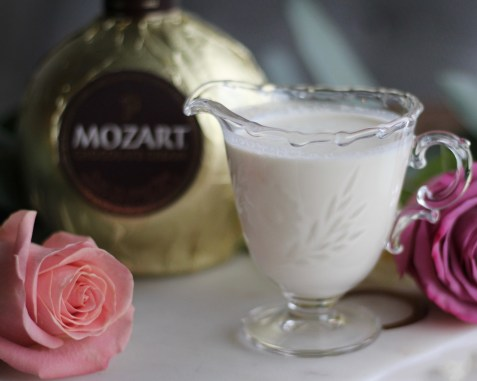 Mozart Milk Chocolate Cream Liqueur and Cream