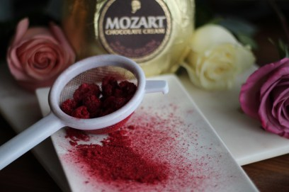 SpiritedLA Valentine's Day Cocktail Recipe with Mozart Chocolate Liqueur