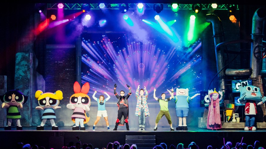 Cartoon Network Live characters