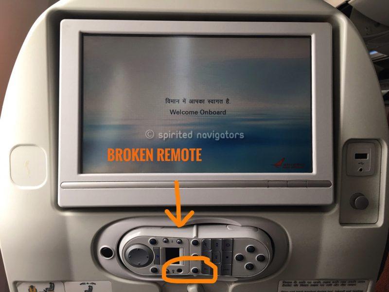 broken remote control