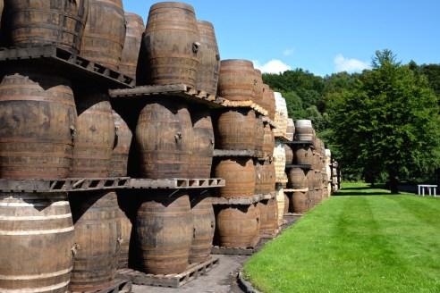 glenfiddich barrels