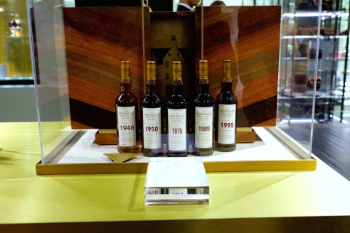 The Macallan Five Decades Collection