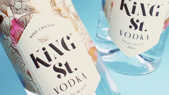 Kate Hudson Launches Gluten-Free King St. Vodka