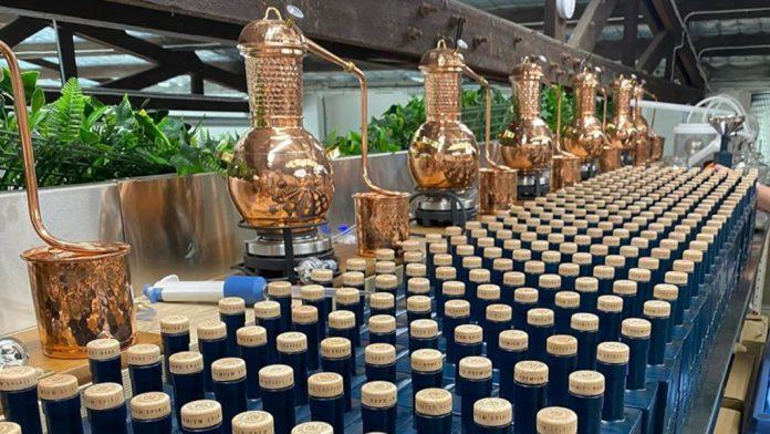 brisbane distillery bottles and stills