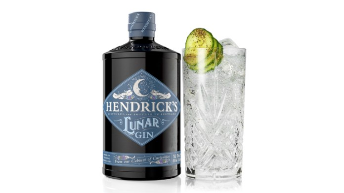 Hendrick's set to release Lunar Gin from their Cabinet Of Curiosities collection