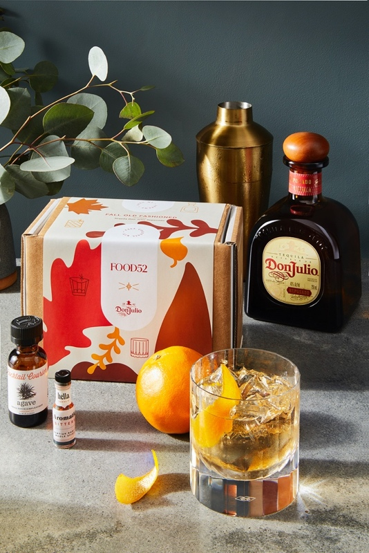 Tequila Don Julio Fall Old Fashioned - Thanksgiving Cocktails 2020