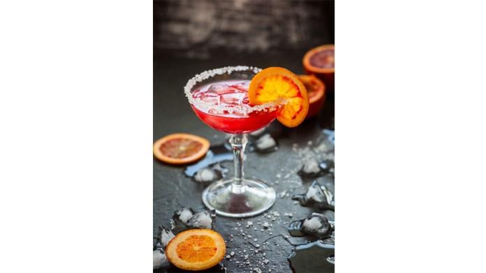 Blood Orange Margarita - spring cocktails