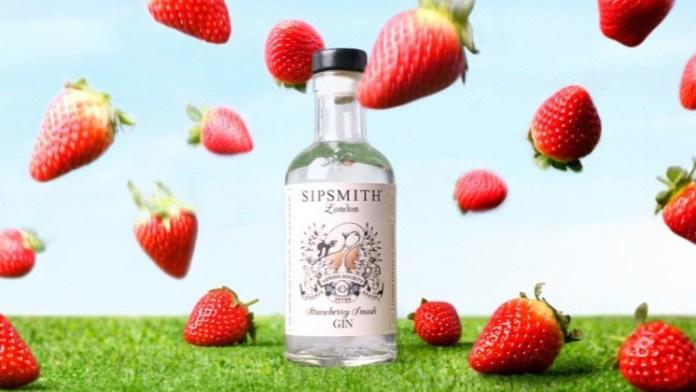 Sipsmith Strawberry Smash