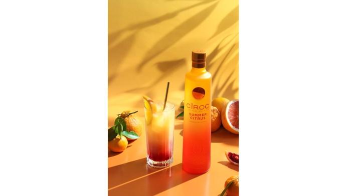 Citrus Sunrise summer cockails