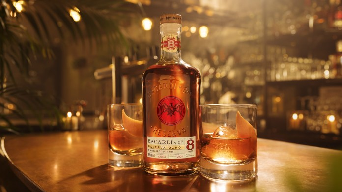 BACARDÍ Ocho Old Fashioned Bottle - National Rum Day