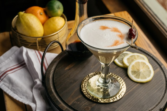 High West Whiskey Sour - End of Summer cocktails