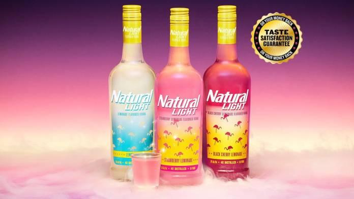 Natty Light Vodkas