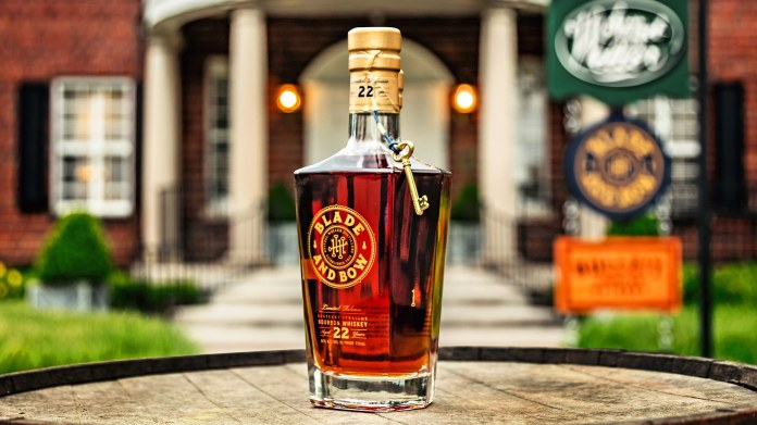 Blade and Bow Brings Back 22-Year-Old Kentucky Straight Bourbon Whiskey