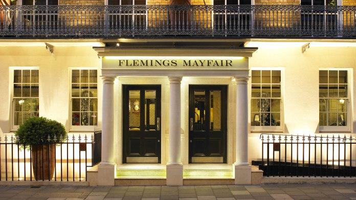 Flemings Mayfair Negroni Suite exterior