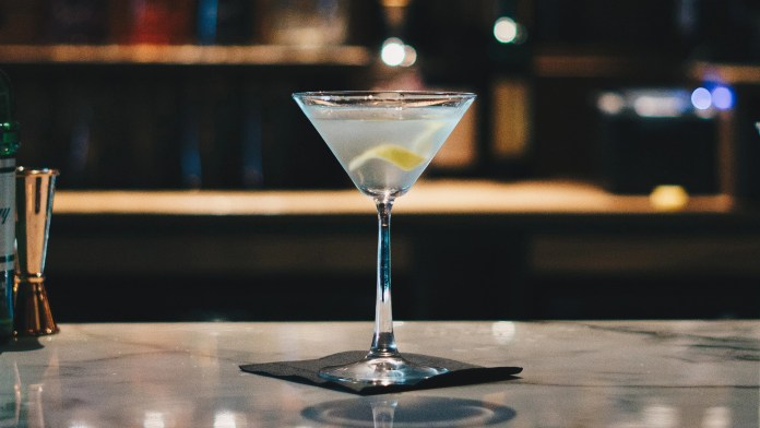 A New York Bar Is Serving The World's Coldest Martini
