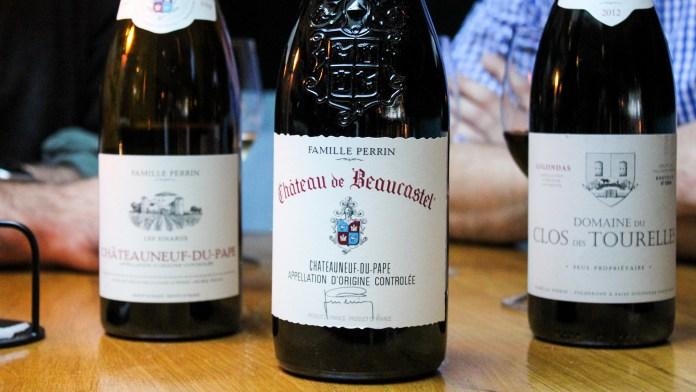 Beaucastel Bottles