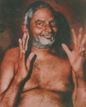 Nityananda Baba blessing