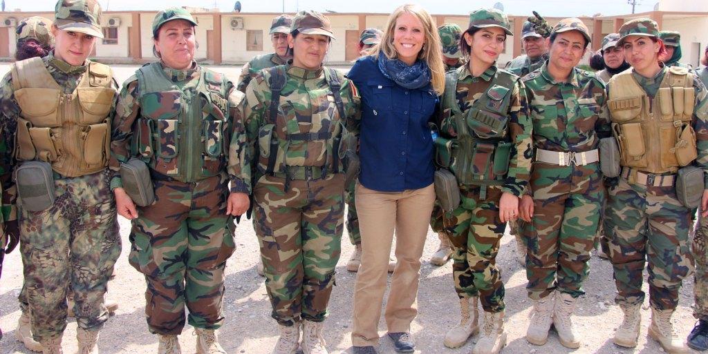 SoA and Female Peshmerga unit