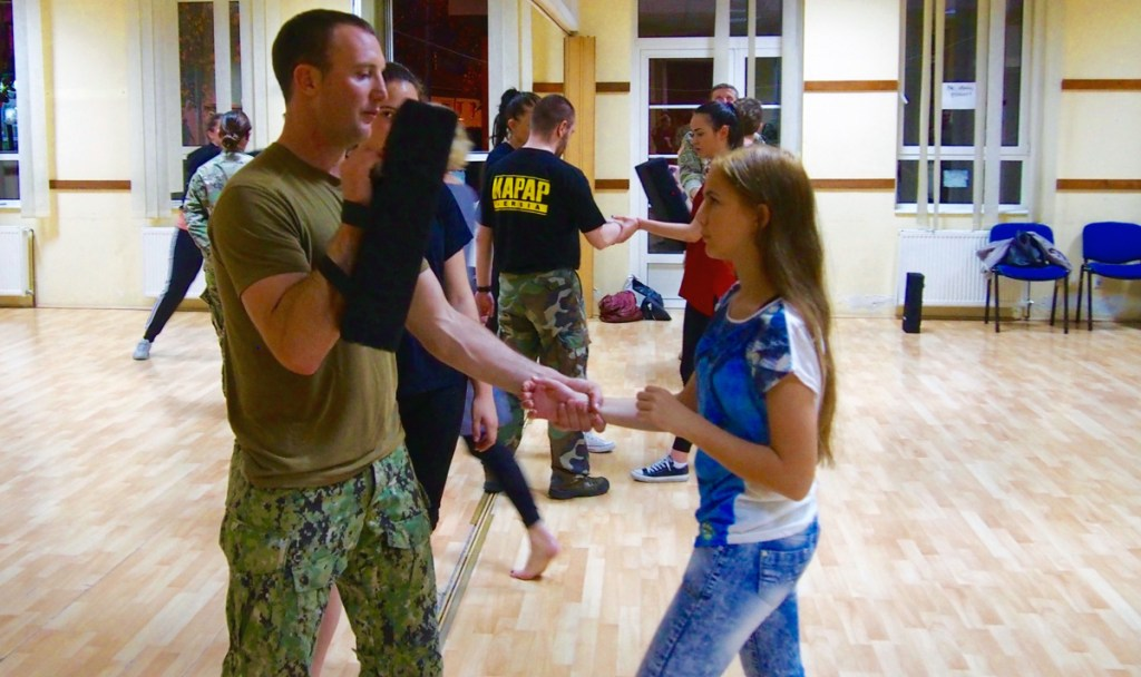 Women's self-defense classes will be taught by American Special Operations soldiers and sailors in 2017.