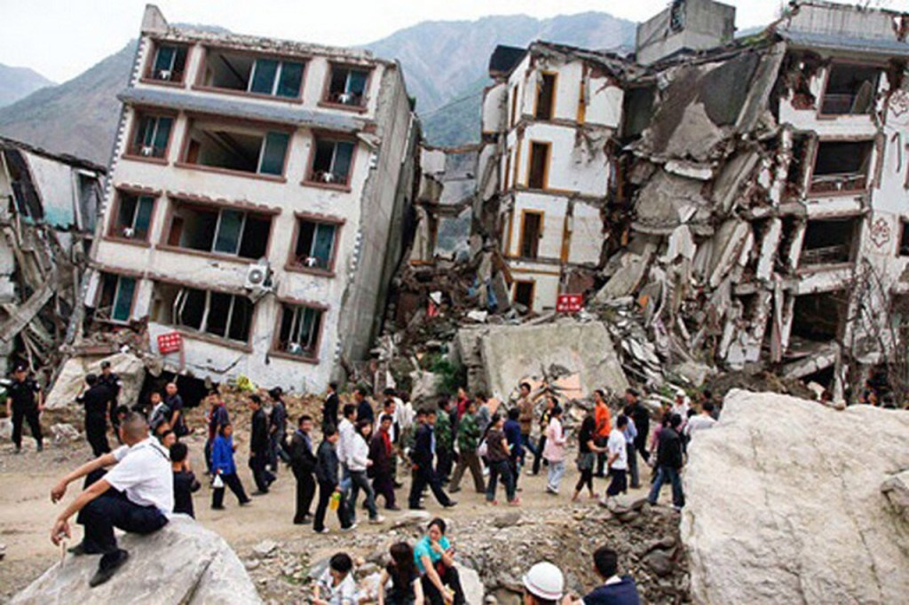 Damage from the 2015 earthquake was extensive, destroying entire neighborhoods in Kathmandu and burying villages in remote areas. (Photo courtesy of viralportal.net)