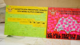 Personal messages from each member of 1st Guards Alpha Coy