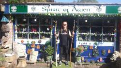 Front of Spirit of Awen shop