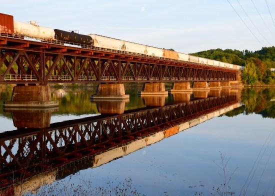 Stillwater Bridge in Autumn