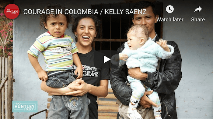 Kelly in Colombia