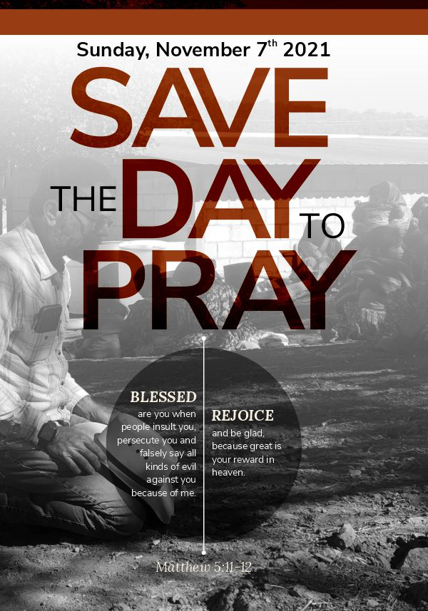 Save the Day to Pray