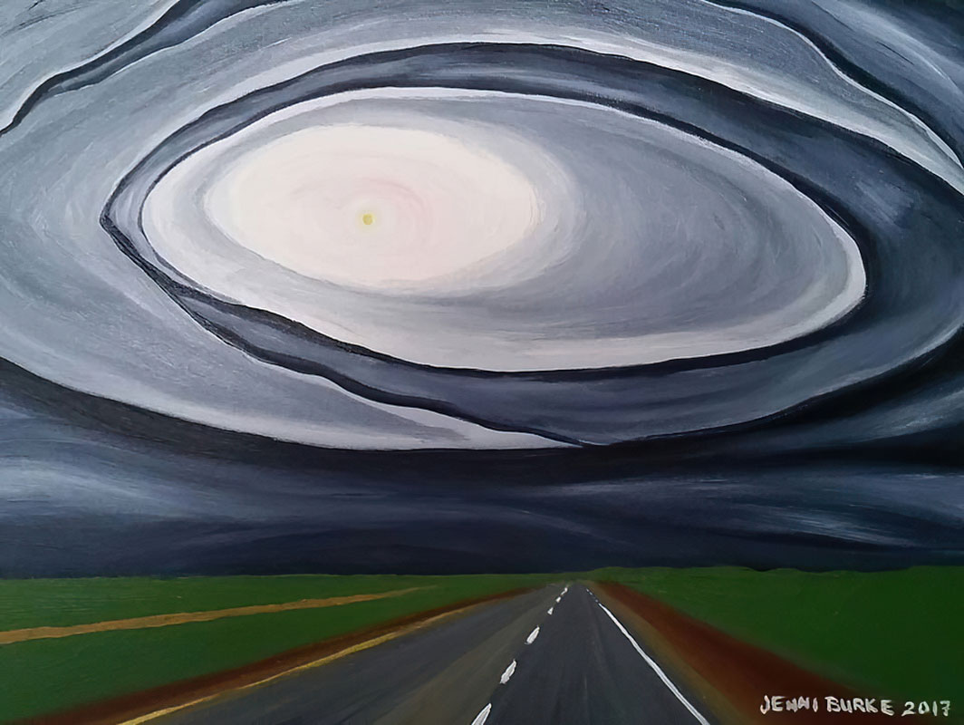 Driving West, Sask. by Jenni Burke