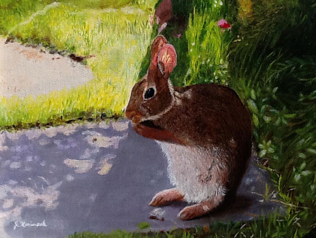 Rabbits by Josie Korimsek