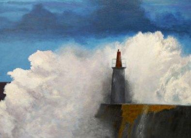 The Lighthouse by Josie Korimsek