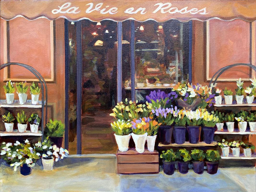 La Vie en Roses by Jenny Cheng Burke