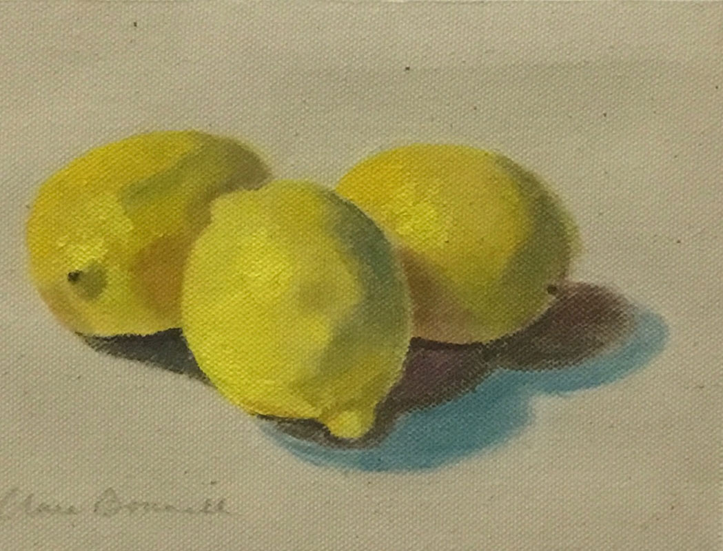 Lemons by Clare Bonnell