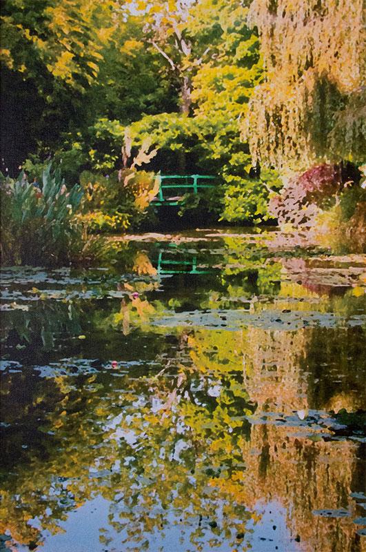 Monet's Garden by Tom Groot