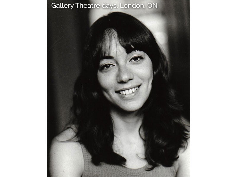 Reva Nelson - Gallery Theatre days, London, ON