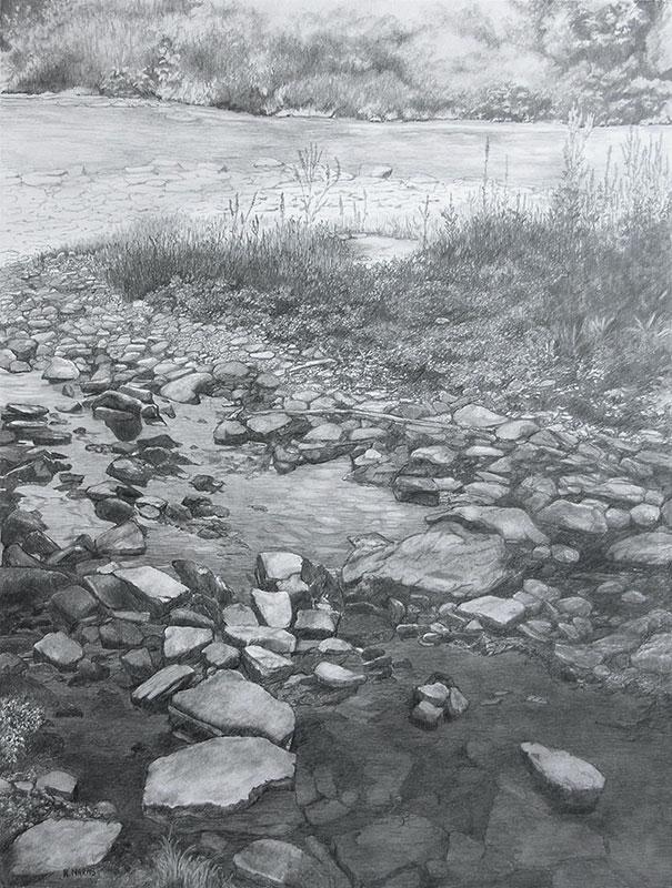 Stepping Stones by Rita Naras