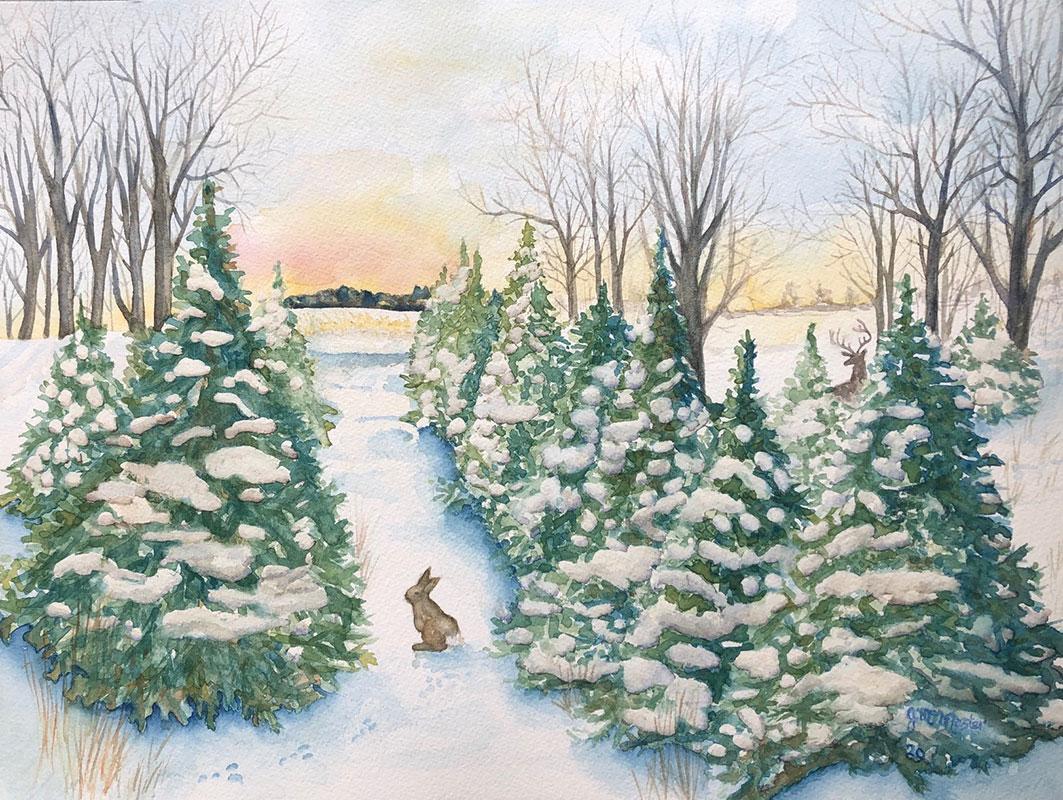 Tree Farm by Joanne McMaste
