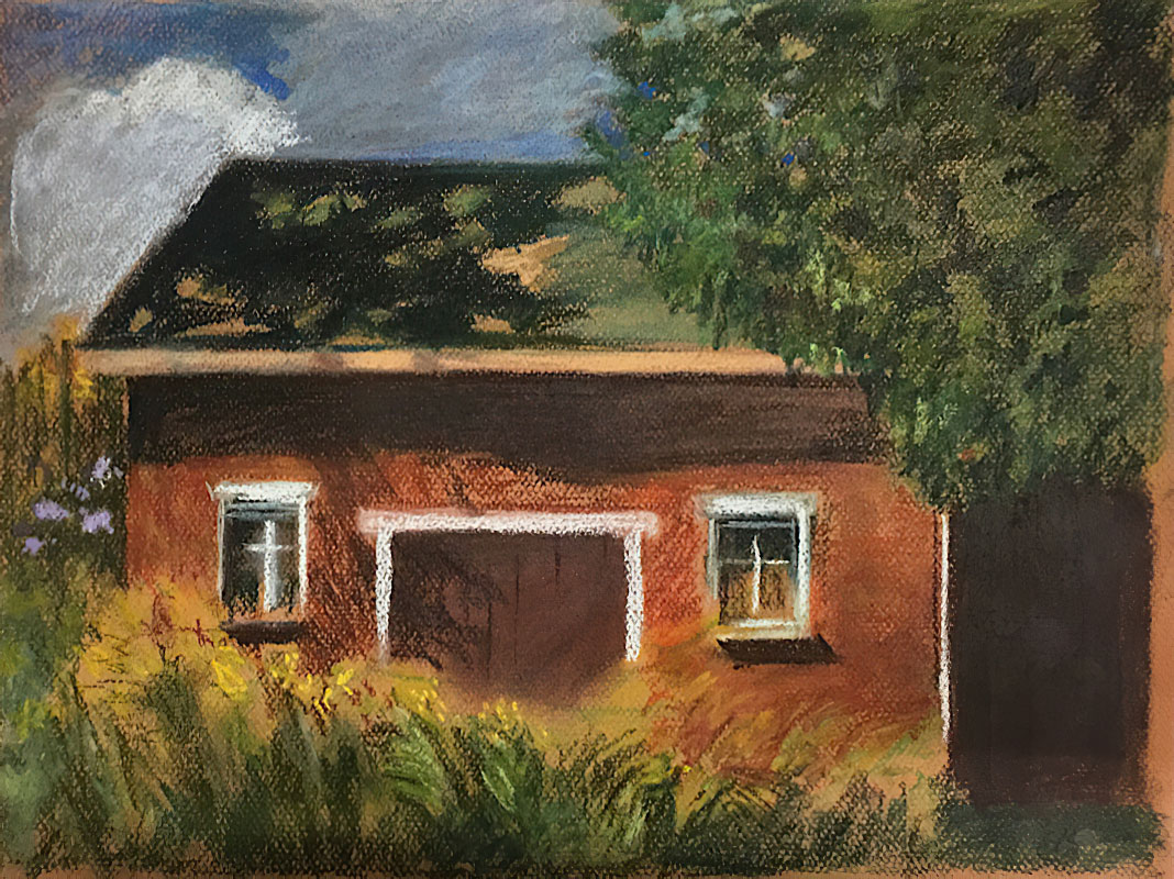 Old Coach House by Clare Bonnell