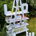 Ladder for weddings in Tuscany