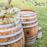parties Wine Barrels for weddings in Tuscany